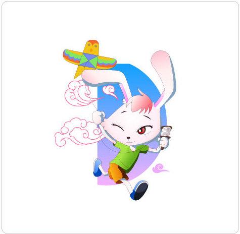 兔子风筝步骤图片