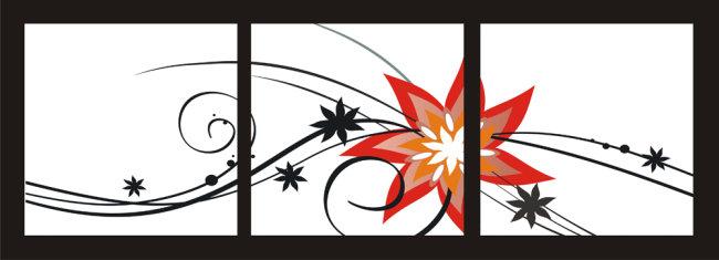 背景墙|装饰画 无框画 植物花卉无框画 > 花纹花边无框画  下一张&