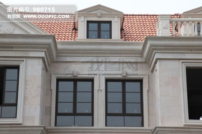 别墅屋顶图片素材 980715 细部建筑图片库