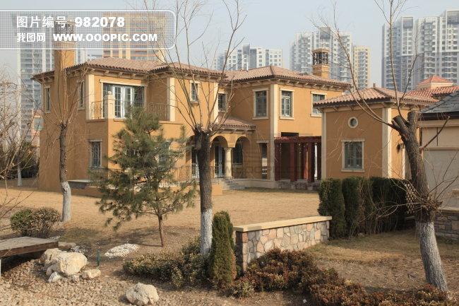 别墅远景图片素材 982078 私人建筑图片库