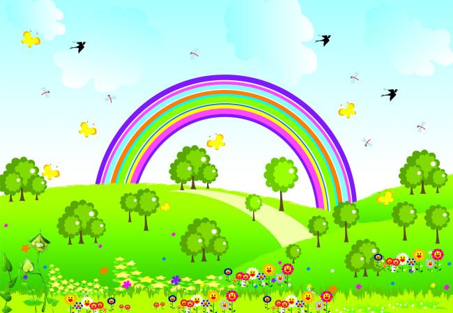 关于春天的画儿童画
