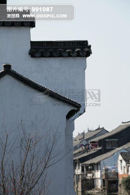 正版图片 建筑 古代建筑 > 苏州民居院墙摄影图片下载  苏州民居院墙