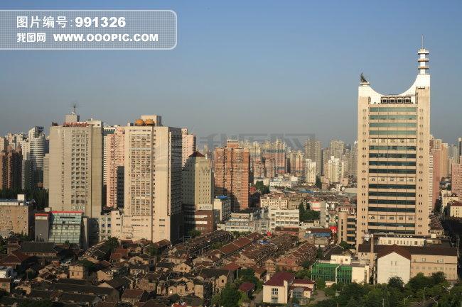 城市 都市 道路 马路 城市风景 繁华都市 正上方视角 近景 远景 航拍