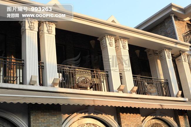 欧式屋檐建筑图片,高清大图图片