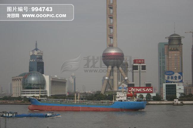 上海东方明珠 黄埔江