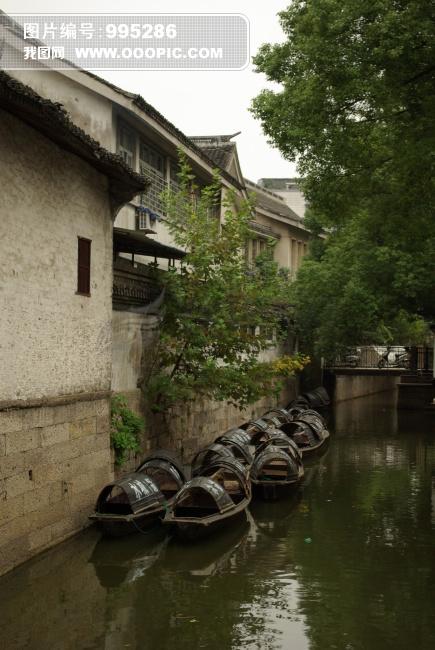 江南水乡摄影图片