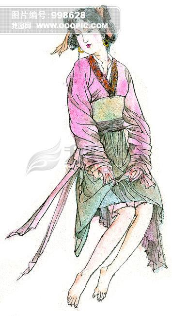 艺术画人物图片_中国艺术画图片素材图片编号998767_人物插