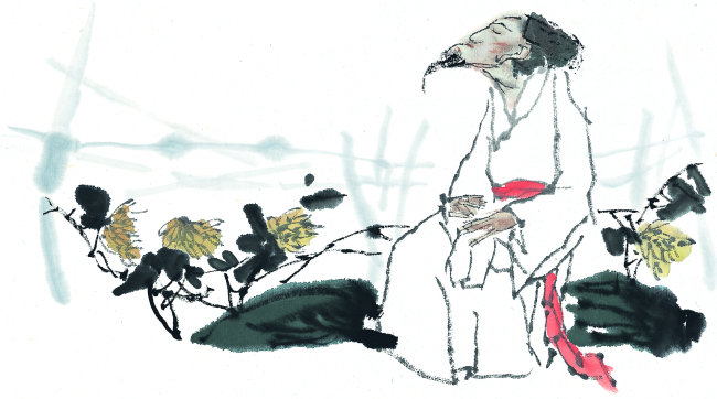 古装人物男人插画