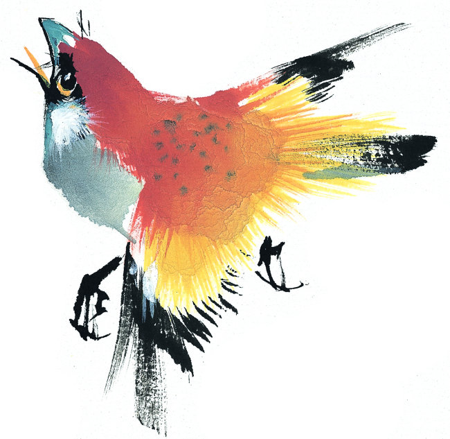 中国书画 中国水墨画素材 中国风水墨画 中国传统绘画 绘画 插画 动物