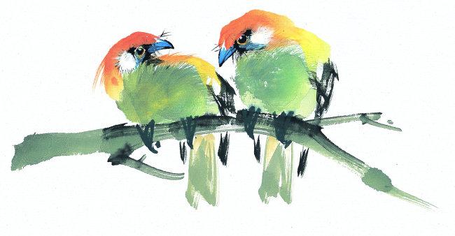 中国艺术动物画