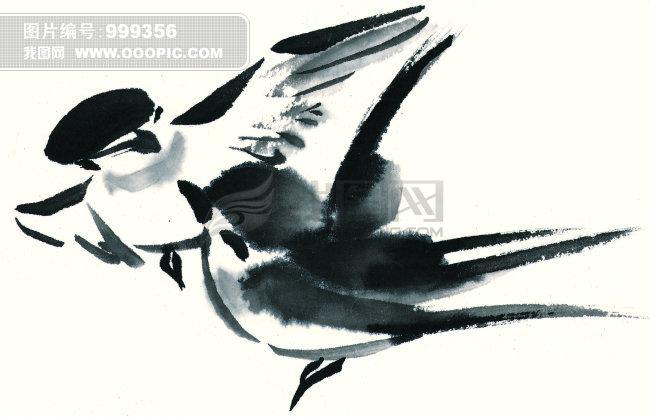 飞翔的燕子+两只飞翔的燕