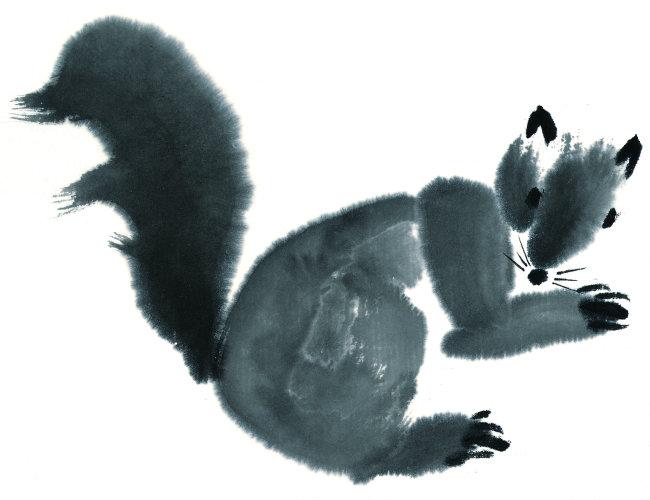 单个动物图片 手绘