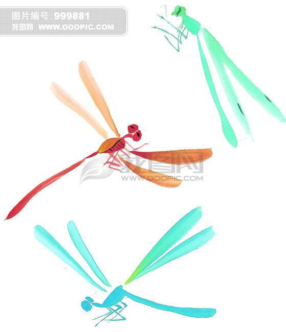 在中国国画中,尤其以蝉为代表的书画,深受群众喜爱。那么,国画蜻蜓的画法有哪几种呢?通过以下几步,可以让您快速了解国画蜻蜓的画法。   蜻蜓,无脊椎动物,节肢动物门,昆虫纲,有翅亚纲,蜻蜓目,差翅亚目,分蜻科和蜓科。在中国国画创作过程中要求融化物我,创作意境,要求意存笔先,画尽意在,达到以形写神,形神兼备,气韵生动的艺术效果,因此蜻蜓画的是否生动,离不开创作着对物象、对生活的深入观察。   那么,我们来看国画蜻蜓的画法      中国国画-花鸟技法-国画蜻蜓的画法 图一   中国国画技法蜻蜓的结构: