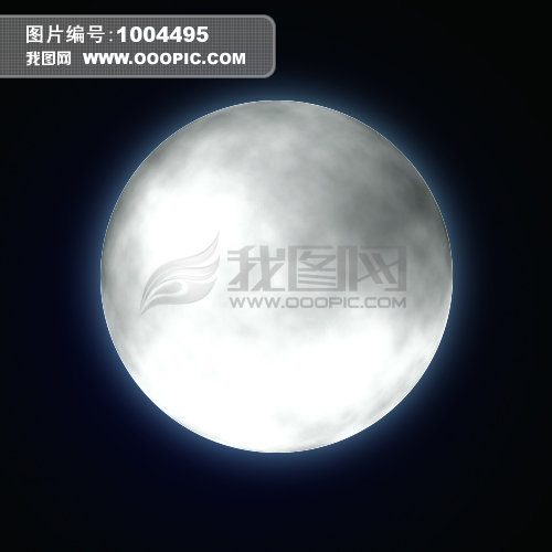 [psd]手绘月亮下载