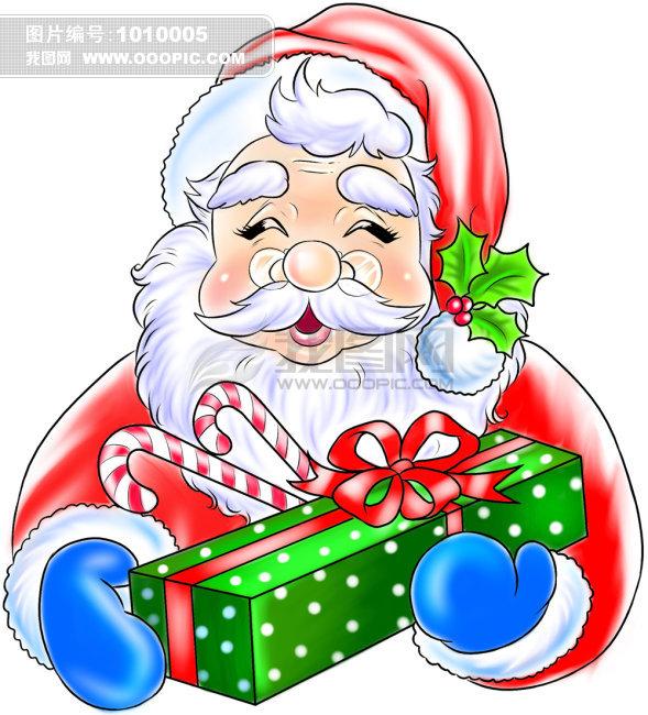 圣诞老人卡通 卡通素材