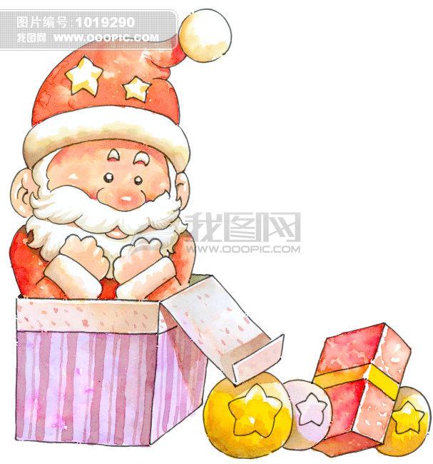 圣诞老人 礼物 节日 圣诞节