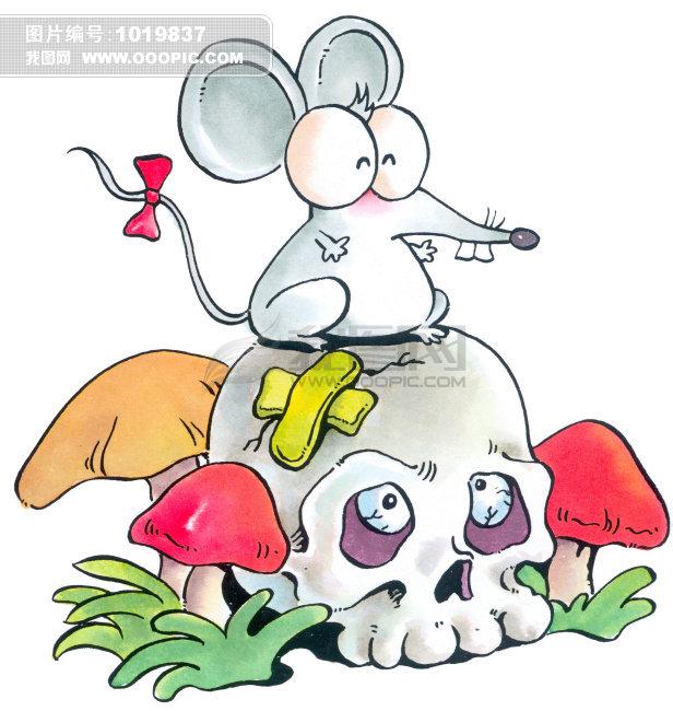 老鼠肖简笔画