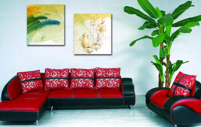 室内手绘图沙发