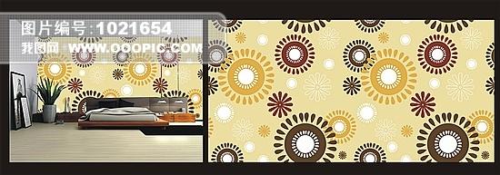 壁纸 墙纸 自由/抽象米色卧室墙纸