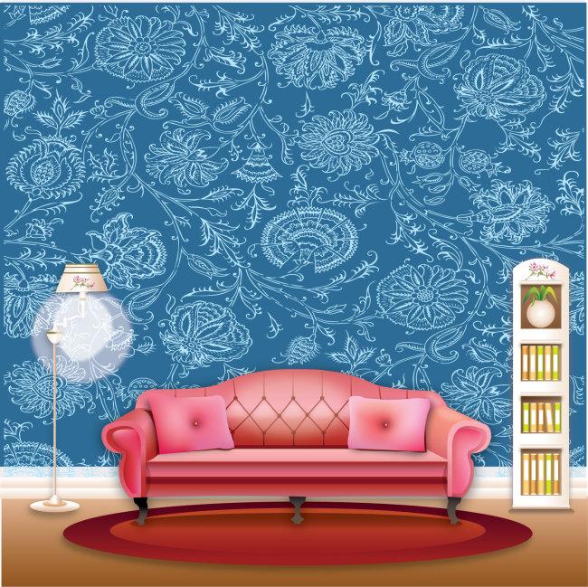 淡蓝色墙壁颜色效果图