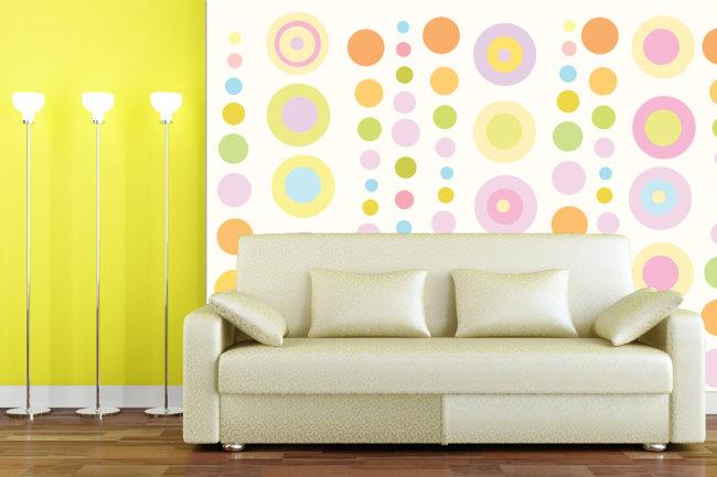 背景墙/[版权图片]时尚壁纸背景墙电视背景墙