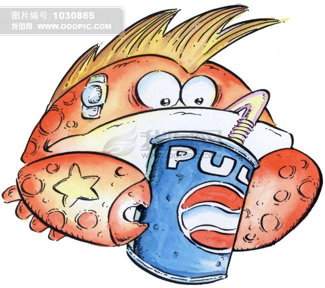 巨蟹座插画