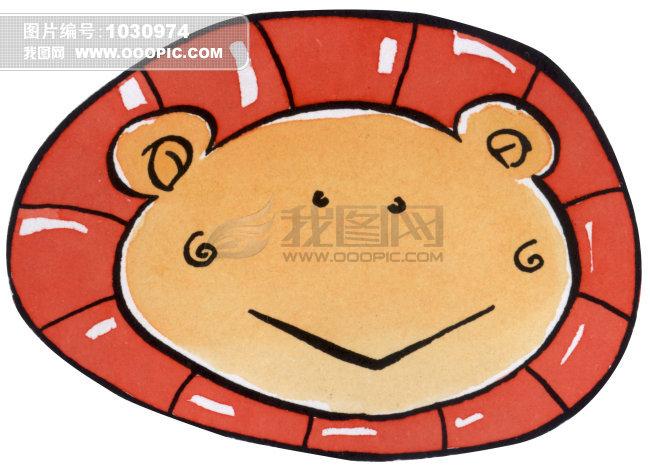 狮子座插画
