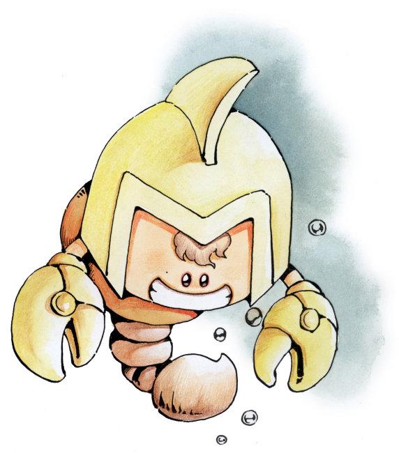 插画 手绘画插画 绘画 艺术画 水墨画 卡通 动漫 漫画 星座 天蝎座
