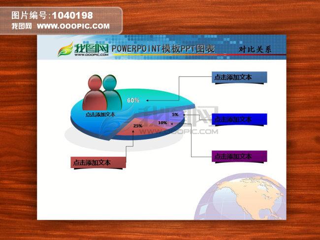 ppt图表 关联关系 包含关系模板下载(图片编号:)