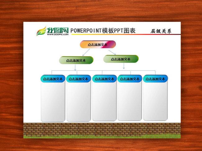 ppt模版下载 包含关系 组织结构