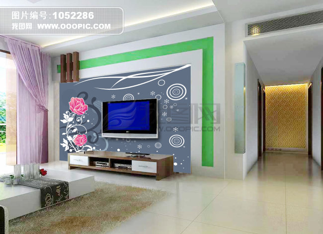 背景墙图片素材下载_室内装饰