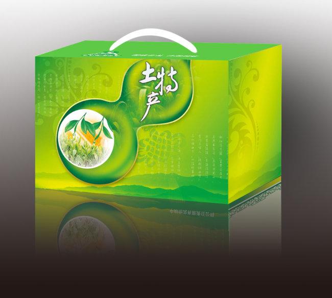 土特产包装模板下载 1052964 食品包装 礼品 包装 手提袋设计模板