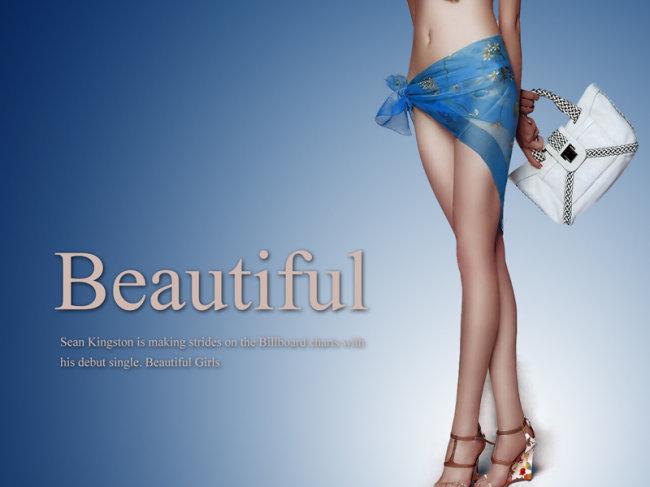 分层美女海报模板下载图片编号:1053195