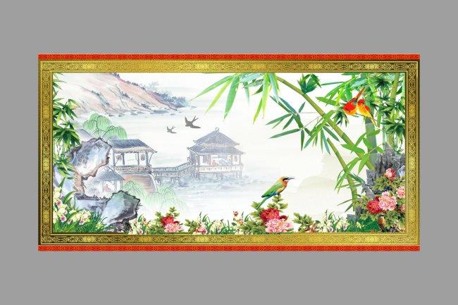 柳树简画柳树速写画关于柳树的画