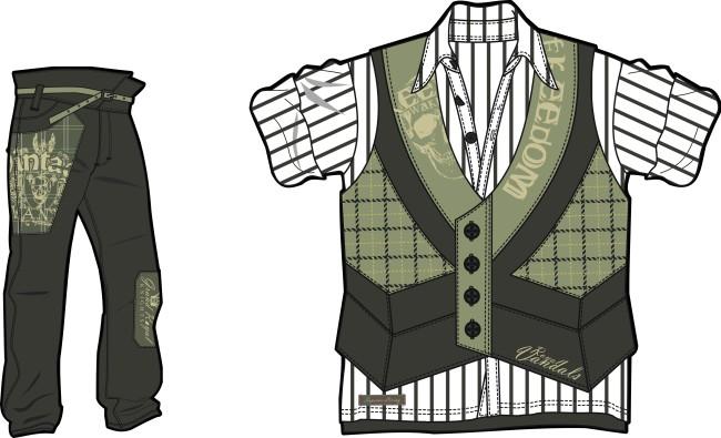 服装设计模板下载 服装设计图片下载