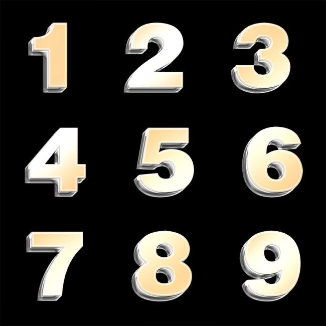 0-9数字头像单个