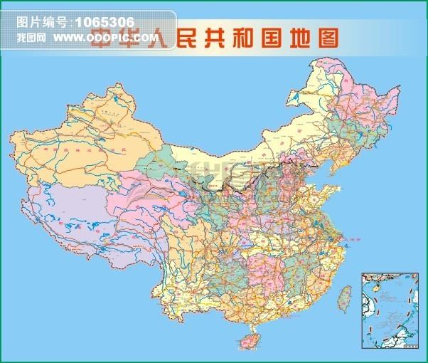 中国地图轮廓 中国地图下载 中