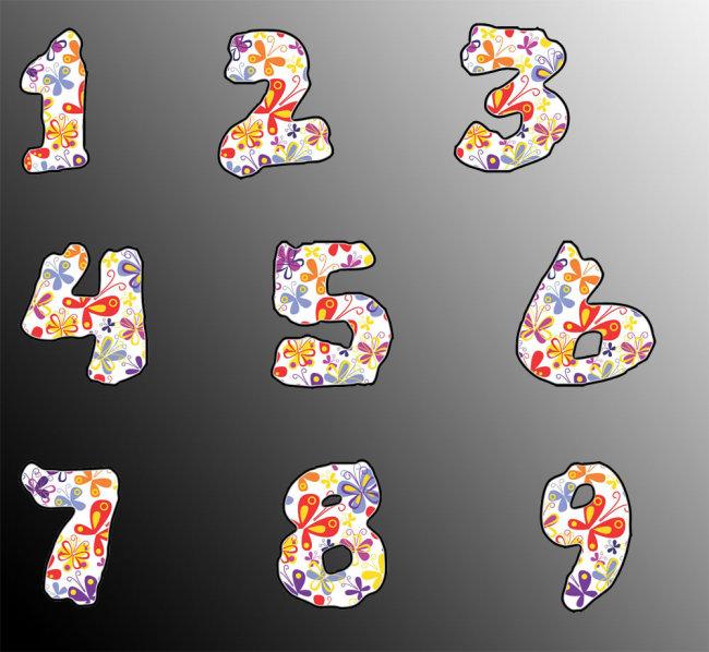 数字1 艺术字 艺术字下载 艺术字设计 艺术字体 艺术字体设计 艺术