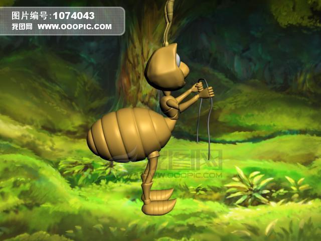 3dmax 建模 动物蚂蚁 源文件下载