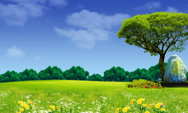 园林风景贴图