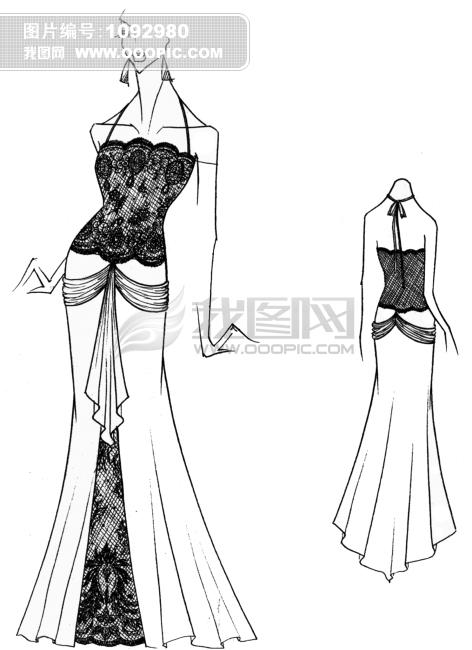 礼服设计模板下载 礼服设计图片下载