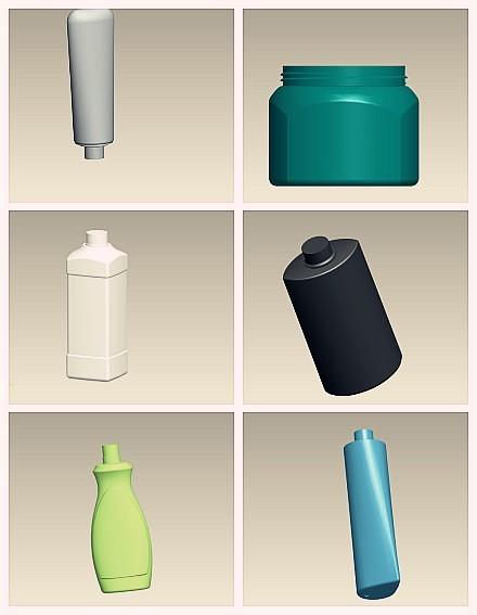 瓶型3d产品设计效果图源文件模板下载(图片编号:)