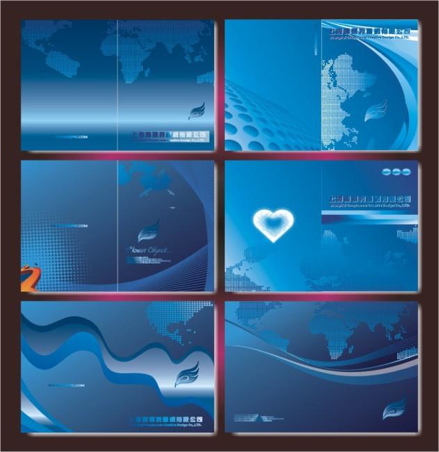 宣传册彩页 手册封面模板