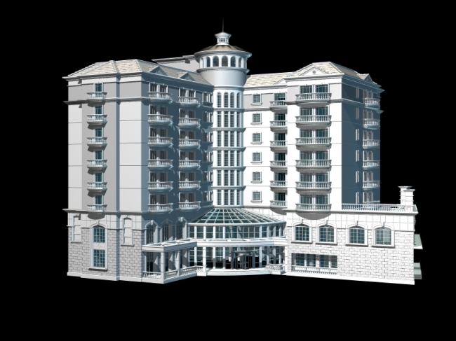 3d建筑模型模板下载 3d建筑模型图片下载