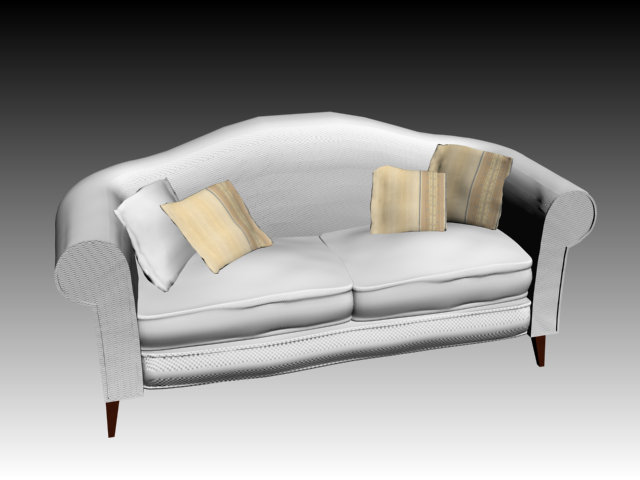 素材/3D素材3D模具库 3D沙发