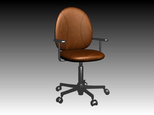 素材/[版权图片]3D素材3D模具库 3D椅子