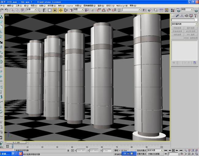 柱子023模板下载 柱子023图片下载