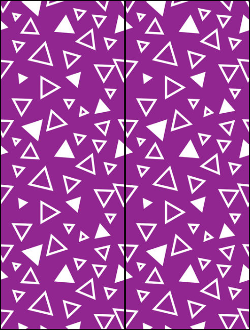 简洁三角形玻璃移门图案psd下载