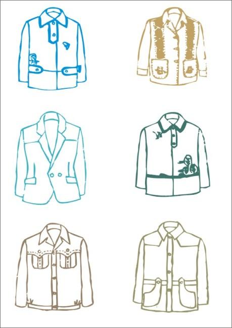 男童上衣设计 矢量 矢量图 服装设计 服饰设计 秋装 冬装 简约时尚