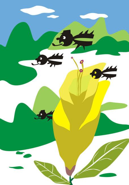 儿童插画 儿童插画设计 儿童插图 插图世界 可爱插图 可爱背景 可爱
